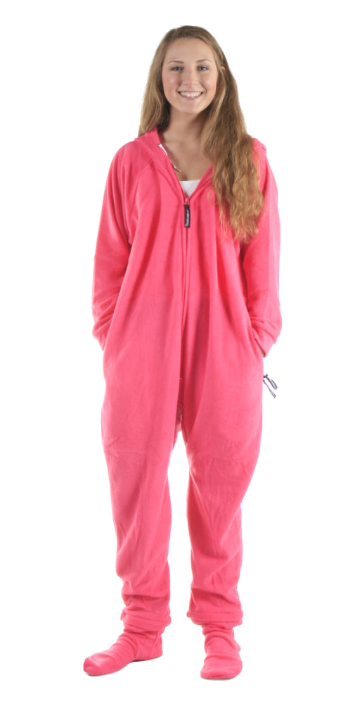 Really Pinkin Tired Onesie- Detachable Feet