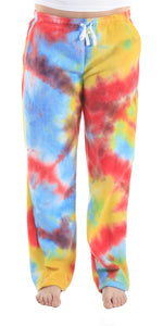 Women's Fleece Pants - Tie Dye