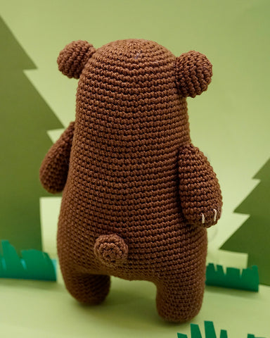 Woobles bear back view