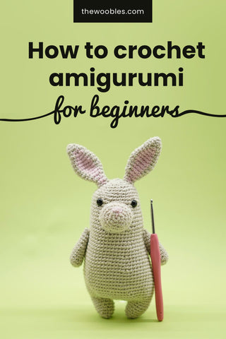 How to crochet amigurumi for beginners pinterest pin