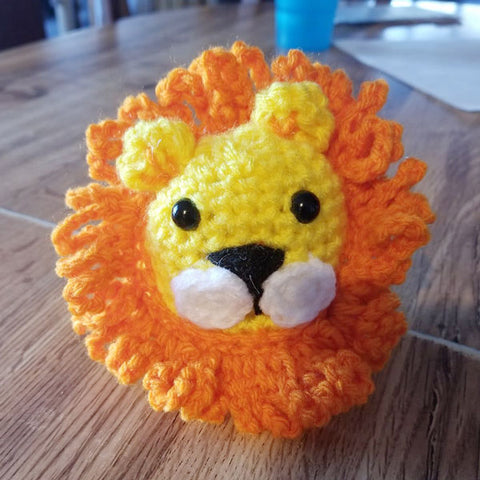 lion made by customer