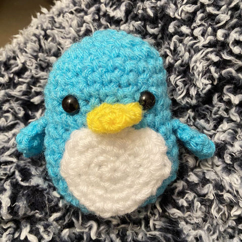 penguin made by customer