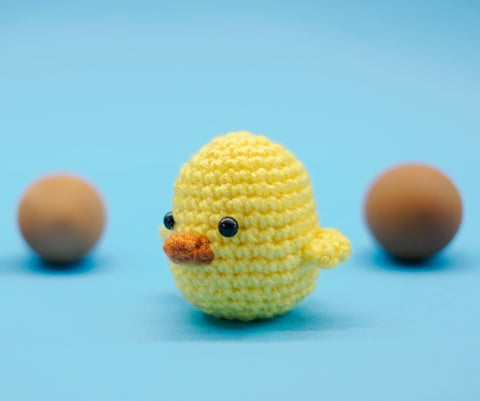 Woobles free chick crochet pattern