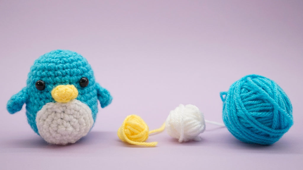 Woobles free penguin pattern