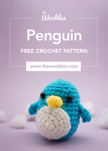 free crochet penguin pattern pinterest pin