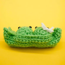 Load image into Gallery viewer, Two Peas in a Pod Crochet Kit