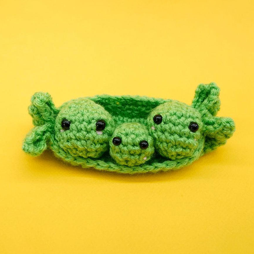 Three Peas in a Pod Crochet Pattern