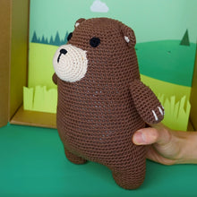 Load image into Gallery viewer, Fitzherbert the Bear Plushie