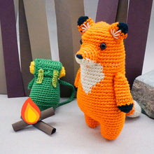 Load image into Gallery viewer, Francois the Fox Crochet Kit