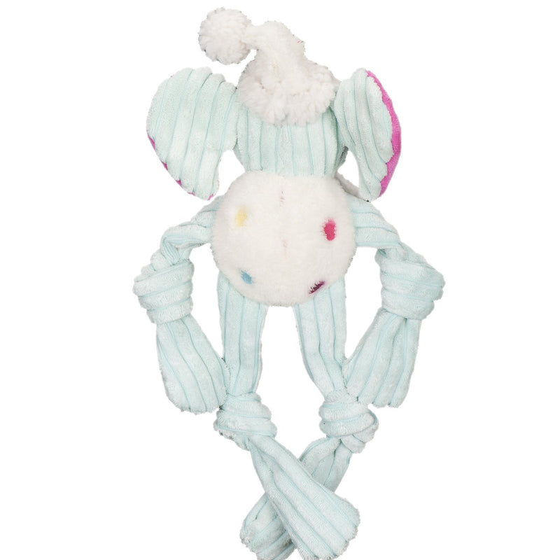 HuggleHounds Happy Birthday Long & Lanky Elephant Dog Toy