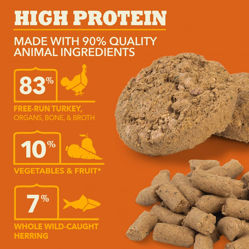 Acana Ranch Free Run Turkey Recipe Freeze Dried Dog Food Patties, 14oz