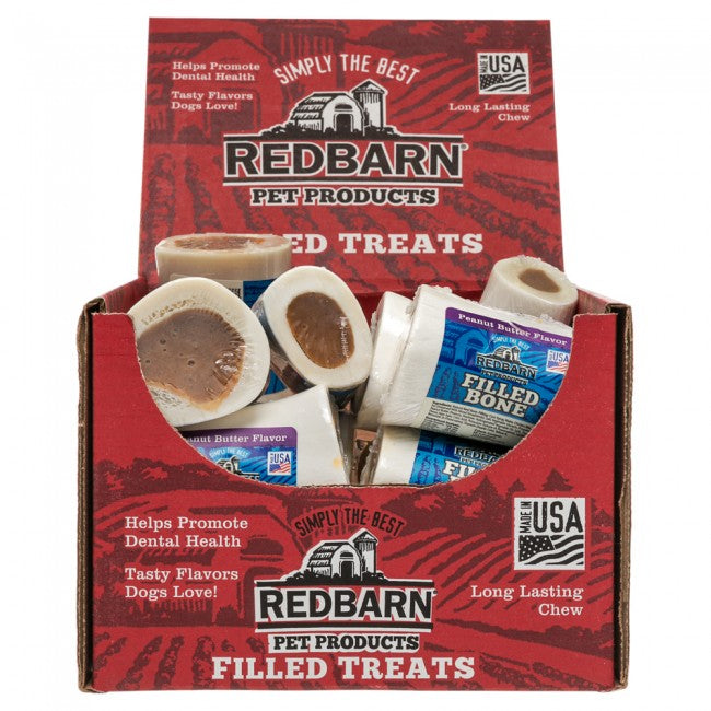 Redbarn Small Peanut Butter Filled Dog Bone For Dogs