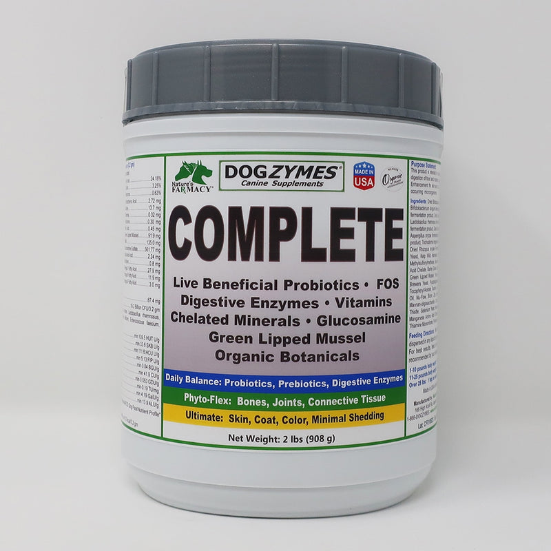 Natures Farmacy Dogzymes Complete Supplement For Dogs