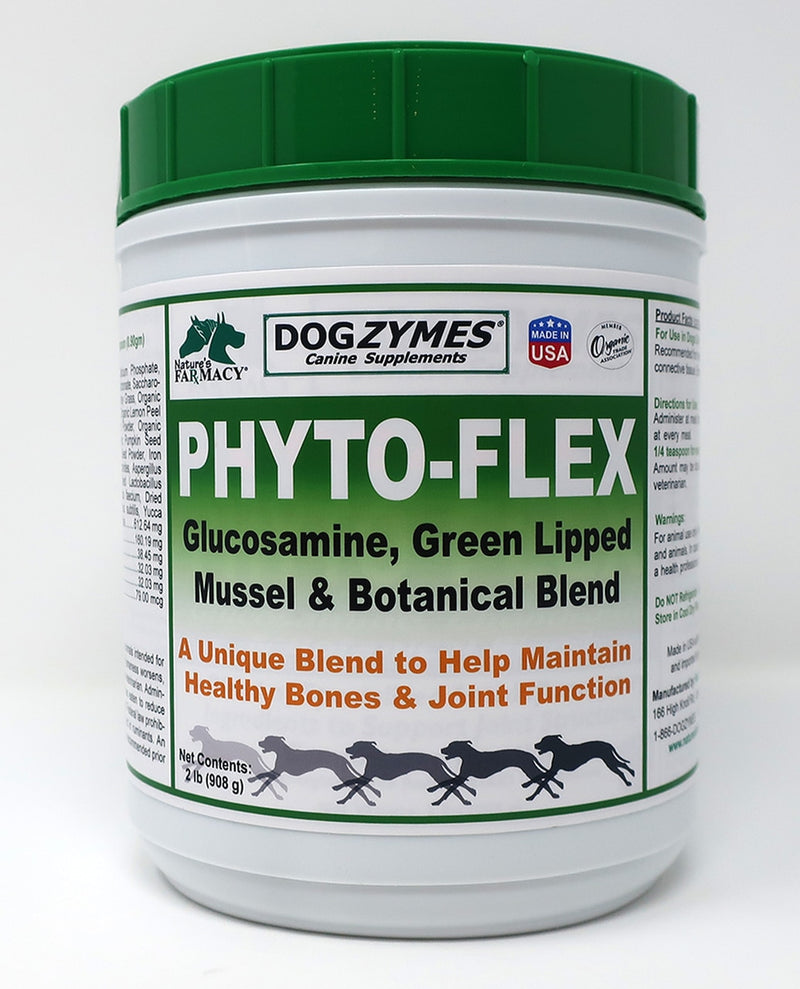 Nature's Farmacy Dogzymes Phyto Flex Supplement For Dogs