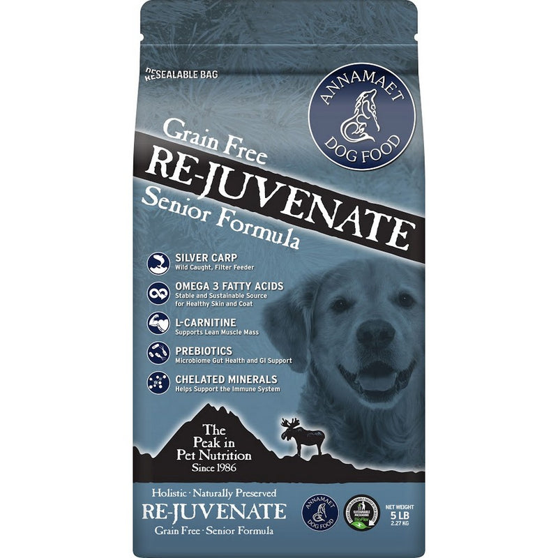 Annamaet Grain Free Rejuvenate Senior Dry Dog Food