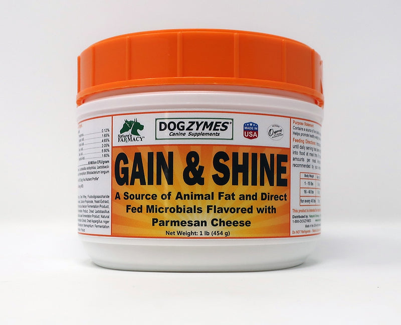 Nature's Farmacy Dogzymes Gain and Shine Supplement For Dogs