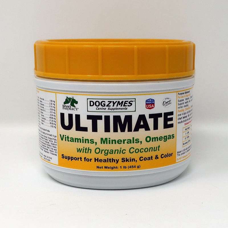 Nature's Farmacy Dogzymes Ultimate Vitamin Supplement For Dogs