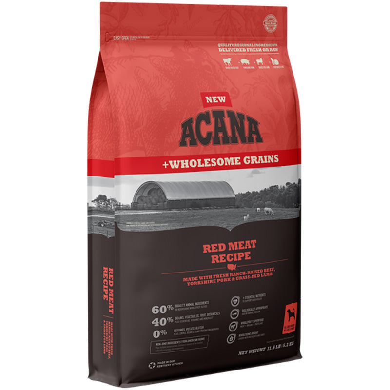Acana Heritage Red Meat & Grains Recipe Dog Food