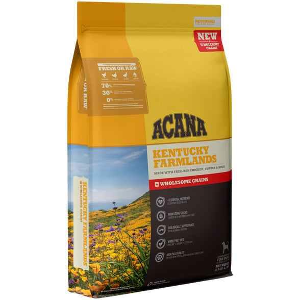 Acana Kentucky Farmland Recipe with Wholesome Grains Dry Dog Food