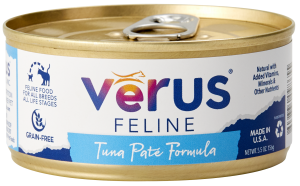 VéRUS Grain Free Tuna Pate Canned Cat Food, 24/5.5oz Cans