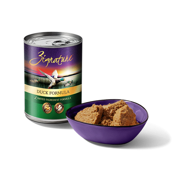 Zignature Limited Ingredient Duck Formula Canned Dog Food, 12/13oz Cans