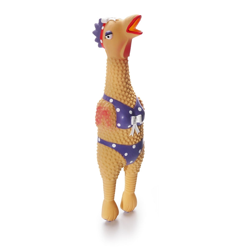 Charming Pet Squawkers Henrietta Dog Toy, Large