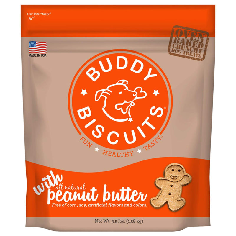 Cloud Star Oven Baked Peanut Butter Dog Treats, 3.5lb