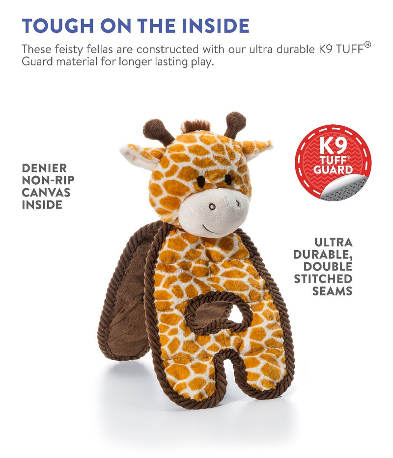 Charming Pet Cuddle Tugs Dog Toy, Giraffe