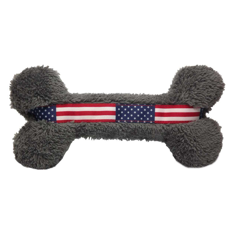 Cycle Dog USA Duraplush Bone Dog Toy, 10.5""