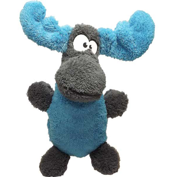 Cycle Dog USA Duraplush Fuzzies Moose Dog Toy, 12""