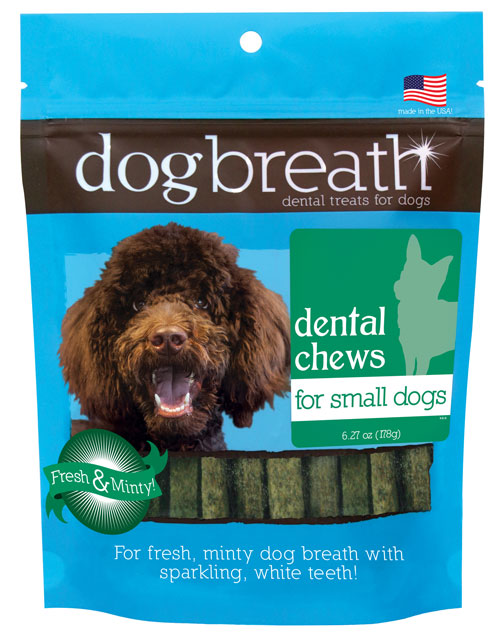 Herbsmith Dog Breath - Dental Chews for Dogs - Small