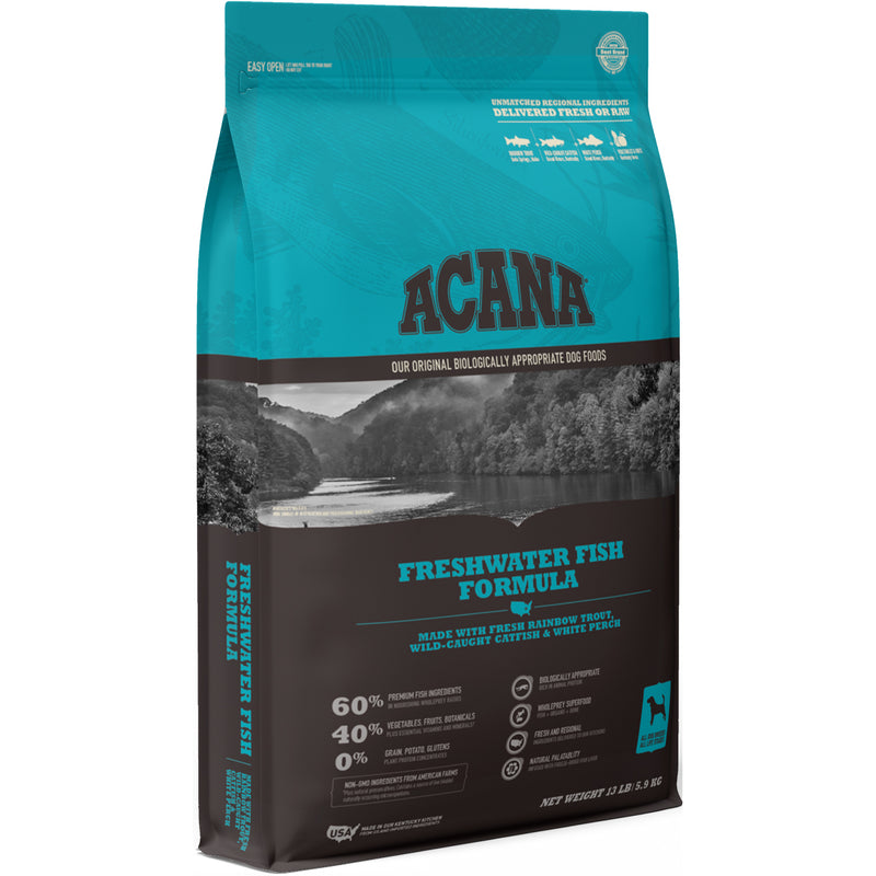 Acana Freshwater Fish Dry Dog Food