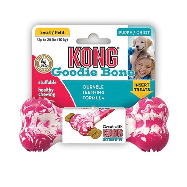 KONG Small Puppy Toy Goodie Bone