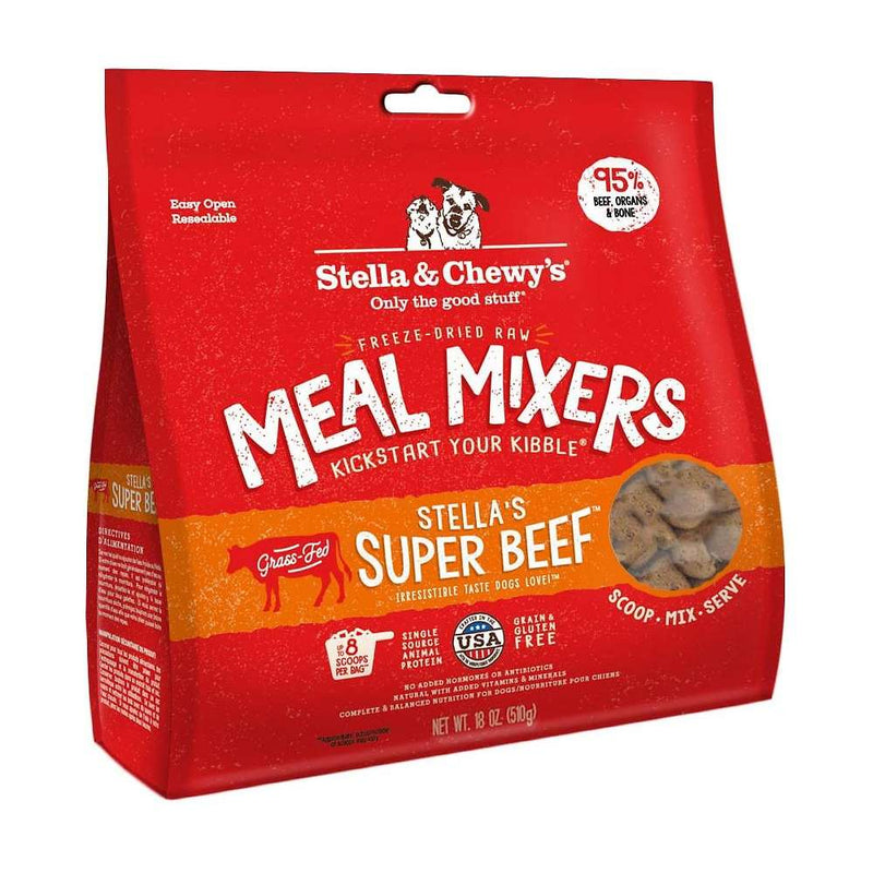 Stella & Chewy's Super Beef Freeze Dried Meal Mixers For Dogs