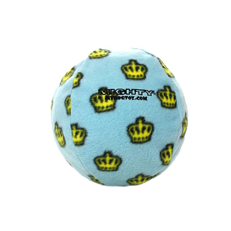 Tuffy Mighty Ball Durable Squeaky Dog Toy, Blue