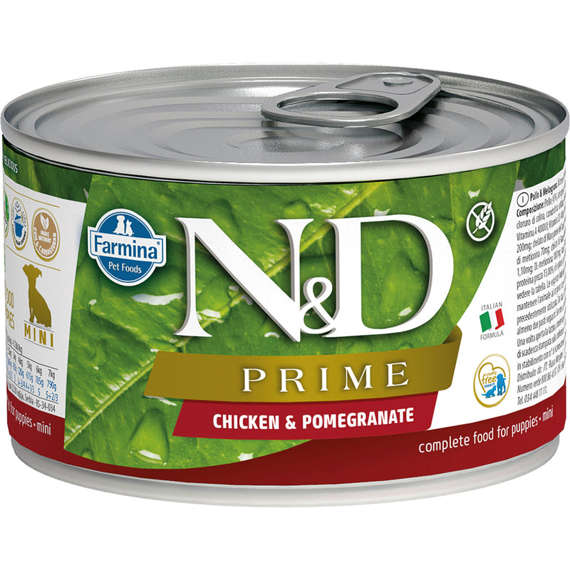 Farmina N&D Prime Chicken & Pomegranate Puppy Canned Dog Food