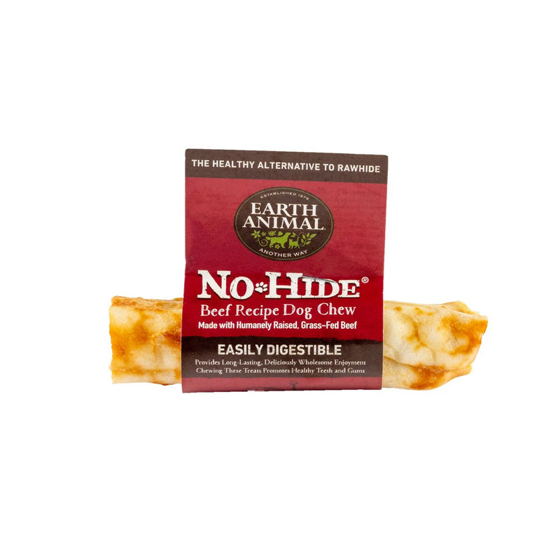 Earth Animal No Hide Beef Flavored Rawhide Alternative Chew For Dogs