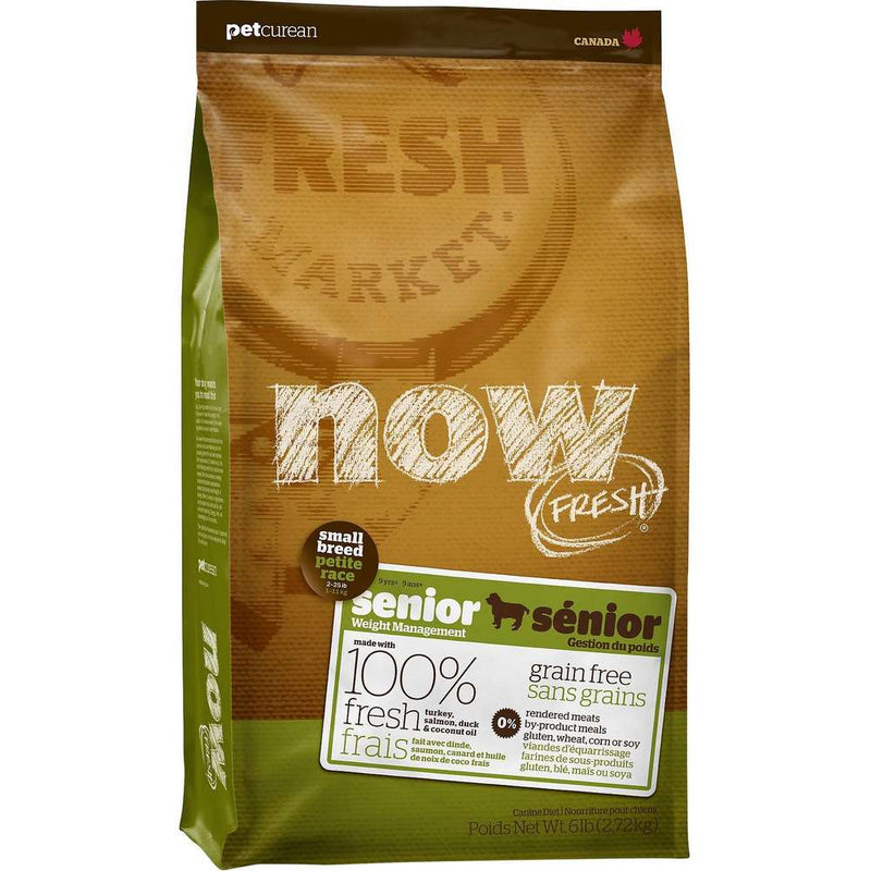 Petcurean NOW FRESH Grain-Free Senior Dry Dog Food