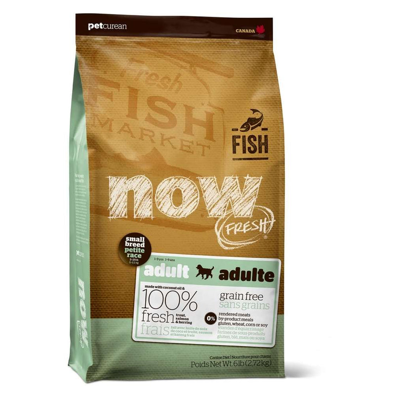 Petcurean NOW FRESH Grain-Free Small Breed Fish Recipe Dry Dog Food