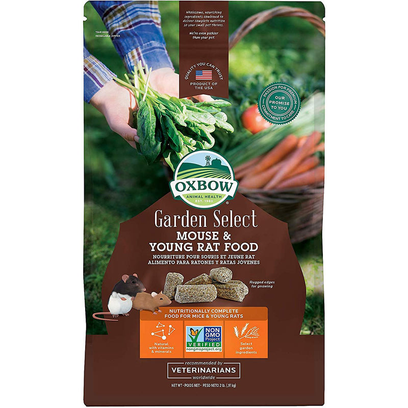 Oxbow Garden Select Young Rat & Mouse Food