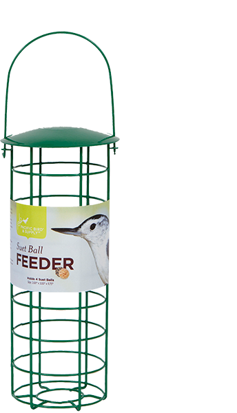 Pacific Bird Suet Ball Wild Bird Tube Feeder