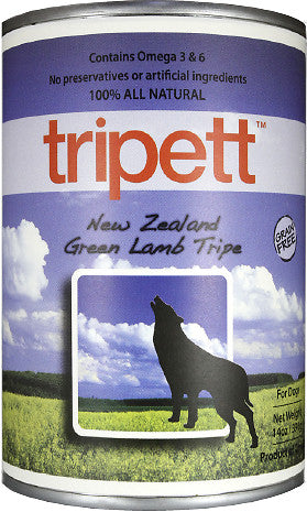 PetKind Tripett New Zealand Green Lamb Tripe Canned Dog Food