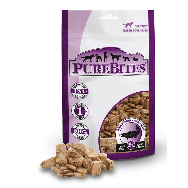 PureBites Freeze-Dried Ocean Whitefish Dog Treats