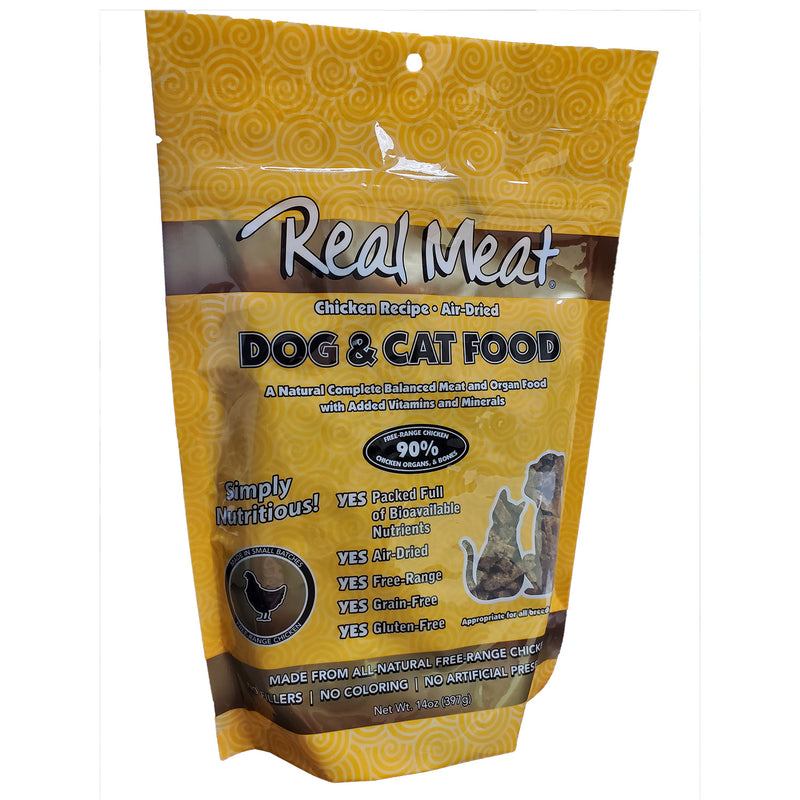 Real Meat Air-Dried Cat Food, Chicken