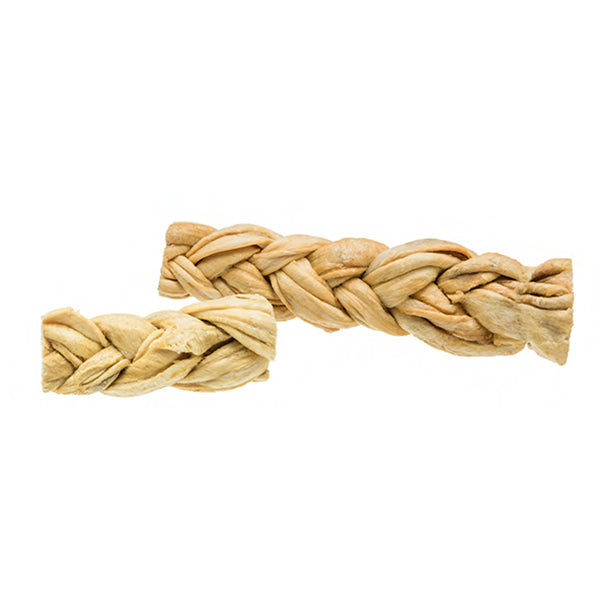 Redbarn Puff Braid Rawhide Alternative Dog Treat