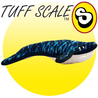 Tuffy Wesley the Whale Sea Creatures Plush Dog Toy