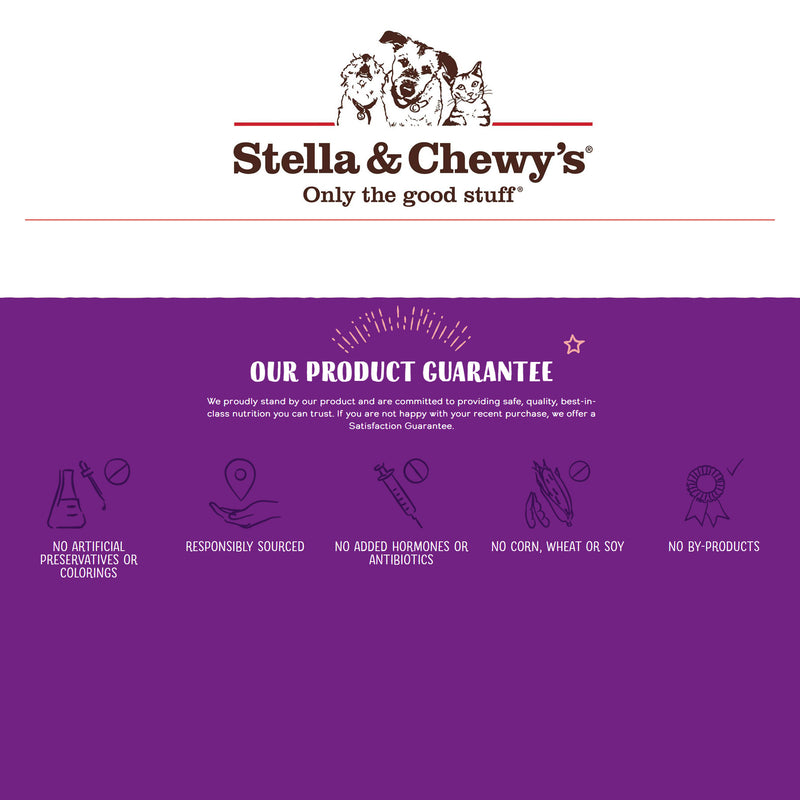 Stella & Chewy's Solutions Skin & Coat Boost Duck Morsels Freeze Dried Cat Food, 7.5oz