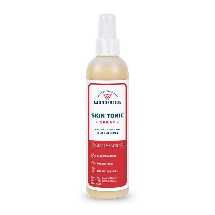Wondercide Natural Skin Tonic Itch Relief Spray for Dogs & Cats