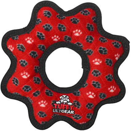 Tuffy Ultimate Gear Ring JR Durable Plush Dog Toy