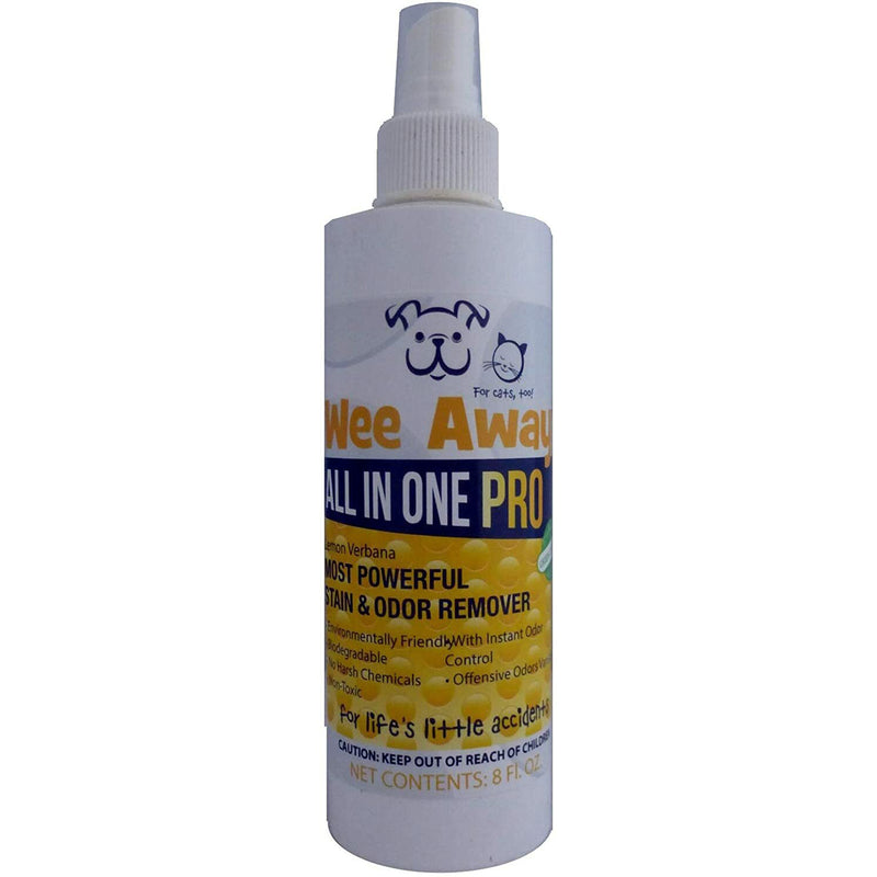 Wee Away All In One Pro Pet Odor & Stain Remover, Lemon Scented
